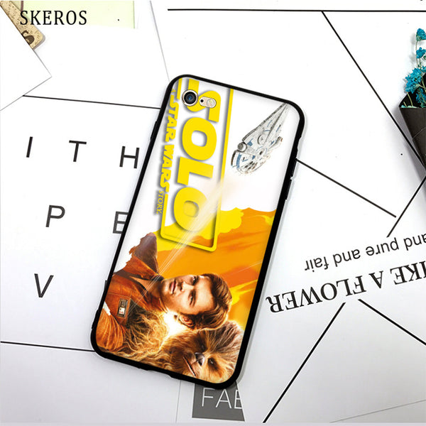 SKEROS solo a star wars story (1) TPU Phone Case Soft Cover For X 5 5S Se 6 6S 7 8 6 Plus 6S Plus 7 Plus 8 Plus #da401