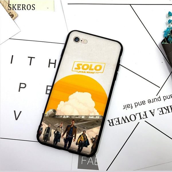 SKEROS solo a star wars story (5) TPU Phone Case Soft Cover For X 5 5S Se 6 6S 7 8 6 Plus 6S Plus 7 Plus 8 Plus #da409