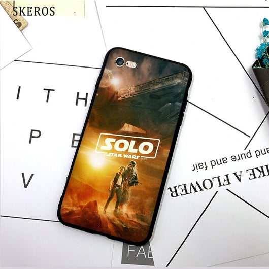 SKEROS solo a star wars story (2) TPU Phone Case Soft Cover For X 5 5S Se 6 6S 7 8 6 Plus 6S Plus 7 Plus 8 Plus #da406