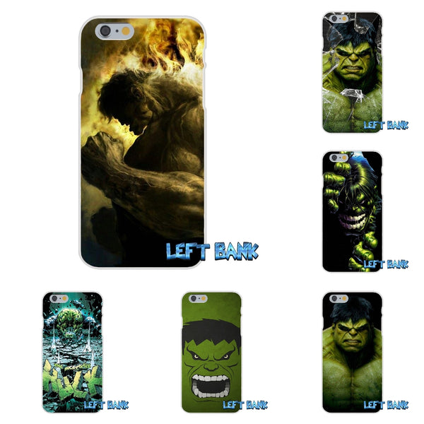 For Xiaomi Redmi 3 3S Pro Mi3 Mi4 Mi4C Mi5S Note 2 4 Incredible Hulk Marvel Soft Silicone TPU Transparent Cover Case