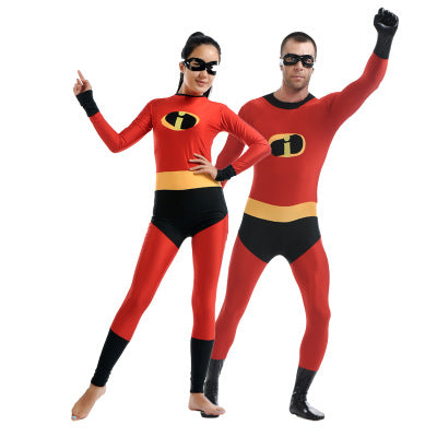 The Incredibles 2  cosplay costume Elastigirl superhero zentai bodysuit costume for Unisex adult Halloween Purim party