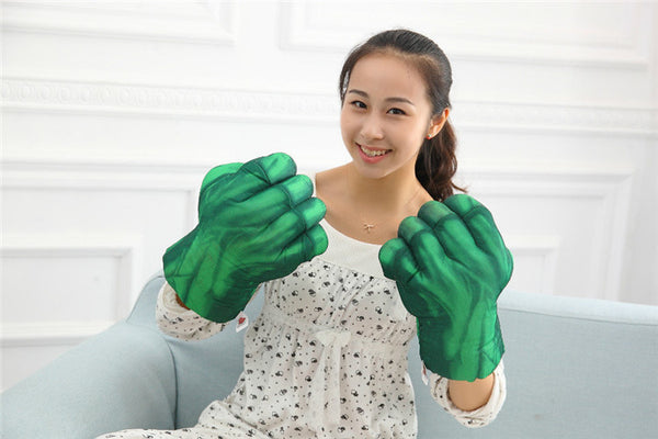 Cosplay 1pair The Avengers 2 Incredible Hulk Gloves Spider-man Gloves 11