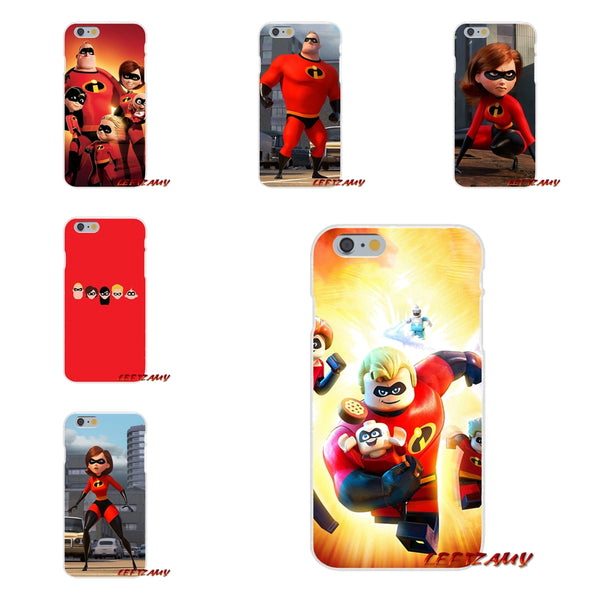 For HTC One M7 M8 A9 M9 E9 Plus U11 Desire 630 530 626 628 816 820 cartoon The Incredibles 2 Silicone Soft Phone Case