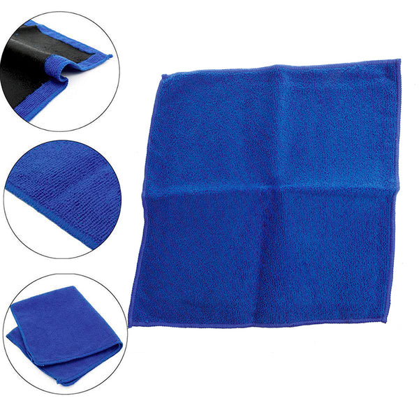 Car-Styling 1Pc Clay Bar Microfibre Mitt Cloth Towel Auto Car Detailing 12