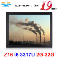 Partaker Elite Z16 Touch Panel PC With 19 Inch LED Large Intel Core I5 3317u 2G RAM 32G SSD