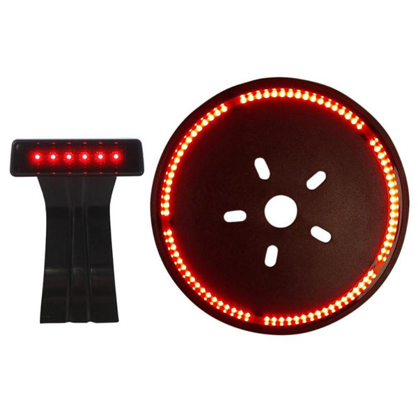1Pcs LED 3rd High Mount Rear Brake Light+ Spare Tire Light for Jeep Wrangler  High Mount Stop Rear Tail Warning Light Lamp New