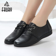 Restaurant Hotel Kitchen Work Footwear Non-slip Flat Soft Work Shoes Waterproof Oil-proof Women's Shoes Black Chef Waiter Shoes