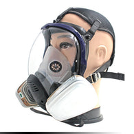 7pcs/Set Full Face Respirator Gas Mask Anti-dust Chemical Safety Mask with 3M Cartridge for Industry Painting Spraying