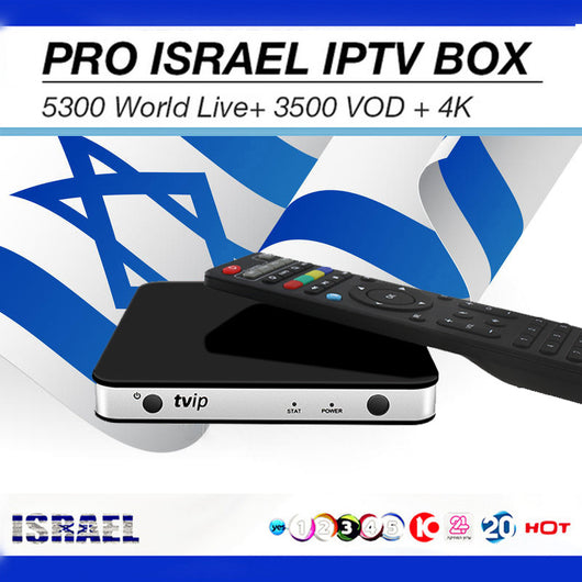 TVIP605 Android Linux Smart TV Box Nordic Sweden Norway Israel 6/12 IPTV Subscription 4800+ Channels Same function like MAG 250