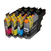 8PCS LC133 LC131 XL Compatible ink cartridge full ink for Brother DCP-J152W DCP-J172W DCP-J4110DW DCP-J552DW DCP-J752DW printer