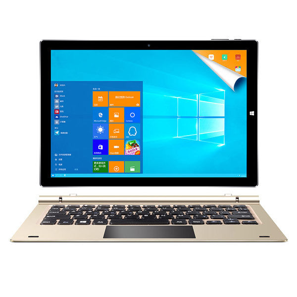TecLast 4G RAM 64G Dual Tbook 10s 246.1x165.9x8.7mm Original Box Intel Atom X5 Z8350 OS 10.1 Gold And Black Tablet with Keyboard