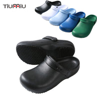 High Quality Chef Shoes Non-slip Waterproof Oil-proof Kitchen Work Shoes Chef Master Cook Hotel Restaurant Slippers Flat Sandals