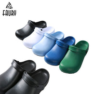 Chef Shoes Oilproof Waterproof Chef Sandals Super Anti-slip Resistant Shoes Summer Clogs with Strap Kitchen Restaurant Shoes