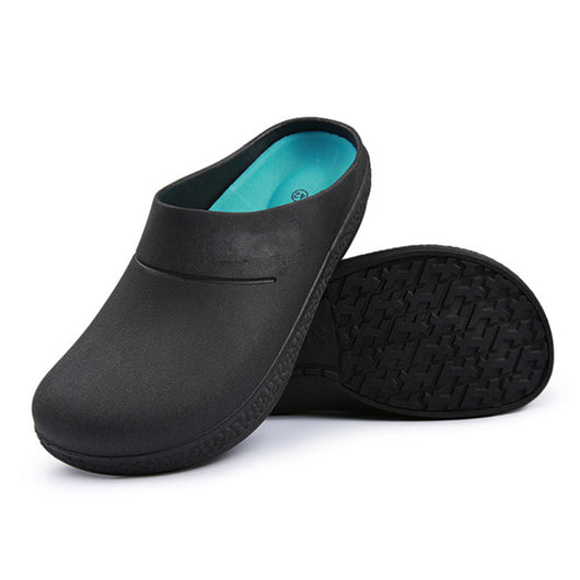 Non Slip Chef Shoes Oil And Waterproof Restaurant Kitchen Hotel Cook Work Laboratory Shoes Breathable Protective Shoes Men Women