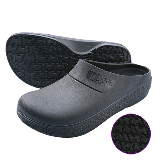 Non Slip Chef Shoes Oil And Waterproof Restaurant Kitchen Hotel Cook W