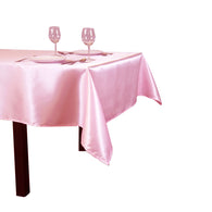 10pcs/ Pack 90 x 132 inch Rectangular 228cm x 335cm Satin Tablecloth Table Cover For Wedding Party Restaurant Banquet Decoration