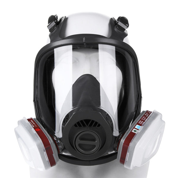 Safurance 15 in 1 Full Face Facepiece Respirator Gas Mask For 3m 6800 Dust Paint Spraying Anti Dust Mask Filter Decorate Protect