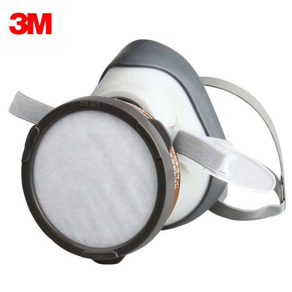 3M 1201 Half face Dust respirator Against Organic Gas Mask steam filtration(Benzene and homologues gasoline carbon disulfide)