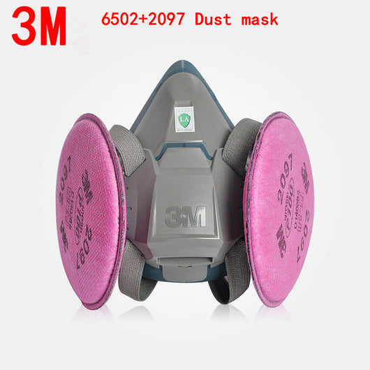3M 6502+2097 P100 respirator dust mask Genuine security 3M respirator mask  against Organic gas Dust particles filter mask