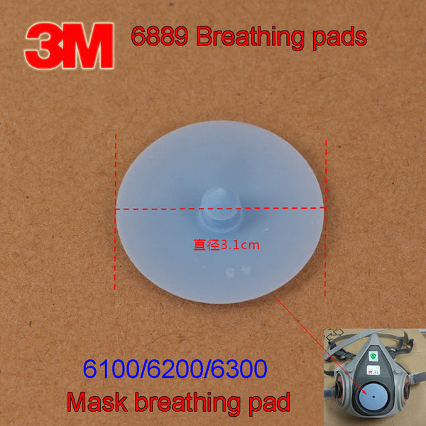 3M 6889 Exhalation valve 6100/6200/6300 Gas mask Breathe Valve blue Breathing valve Gasket Replacement parts