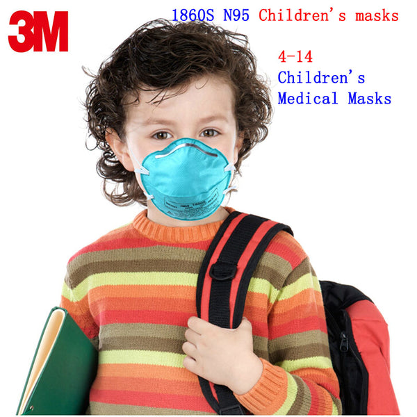 OUT OF STOCK 3M 1860S N95 respirator mask respirator mask 3M filter mask against 4-14 year old child anti-virus Anti-dust particles dust mask