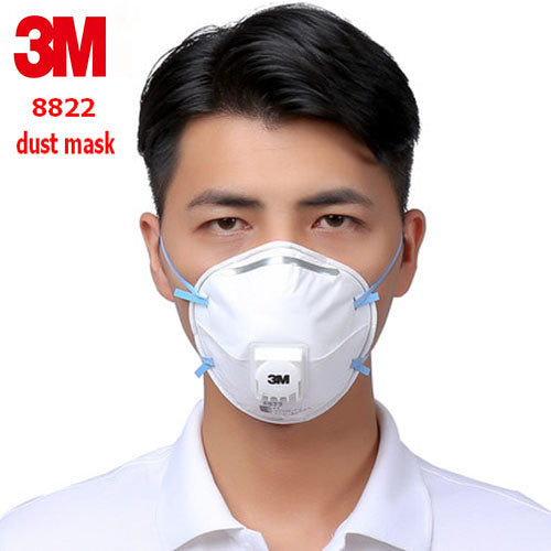 3M 8822 FFP2 respirator dust mask Cold flow valve Anti-static filter dust mask industrial safety dust smoke respirator mask