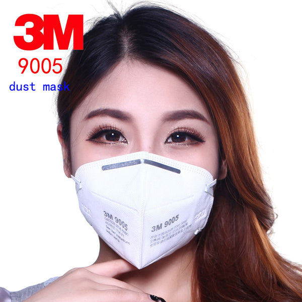 3M 9005 10PCS respirator dust mask Anti-static filter cotton respirator mask against PM2.5 Dust cleaning Sandpaper polished mask