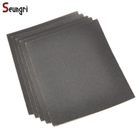 SR 10Pcs 230x280mm Grit 800 1000 1200 1500 1200 Waterproof Sanding Paper Wet Dry Polishing Sandpaper Grit Granularity Metal Wood