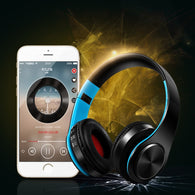 Portable Wireless Head phones Foldable Bluetooth Headset Bloototh Earphone Headphone Earbuds Earphones With Mic Support TF