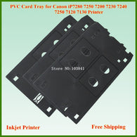 PVC ID Card tray for canon iP7280 IP7250 IP7200 IP7230 IP7240 IP7250 7120 7130 MG7510 MG7520 MG7540 MG7550 printer ID Card tray