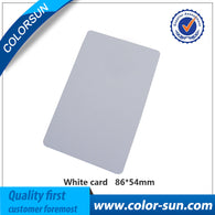50PCS Directly Printing Inkjet Blank PVC Card For Epson Printer R265 R310 R320 R350 R390 Double Side Printable PVC ID Cards