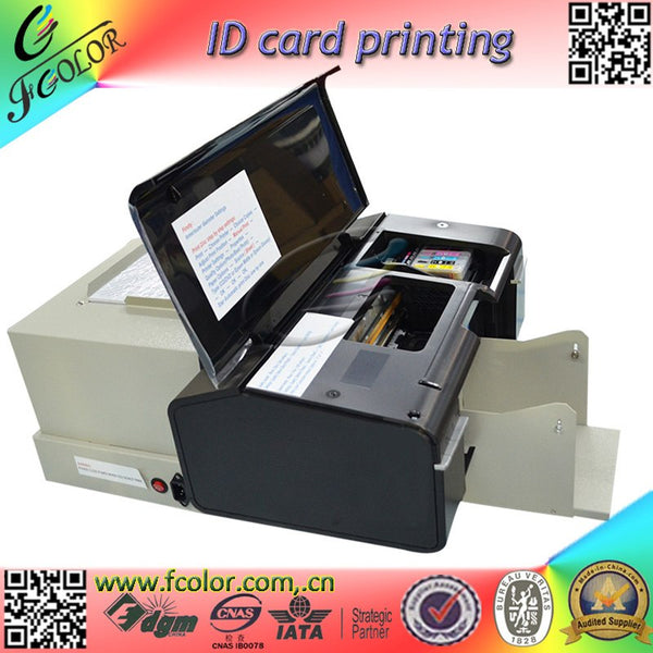 Inkjet ID Card Printting Machine AutoMatic Inkjet CD Printer With 52 Trays for ID Cards and CD