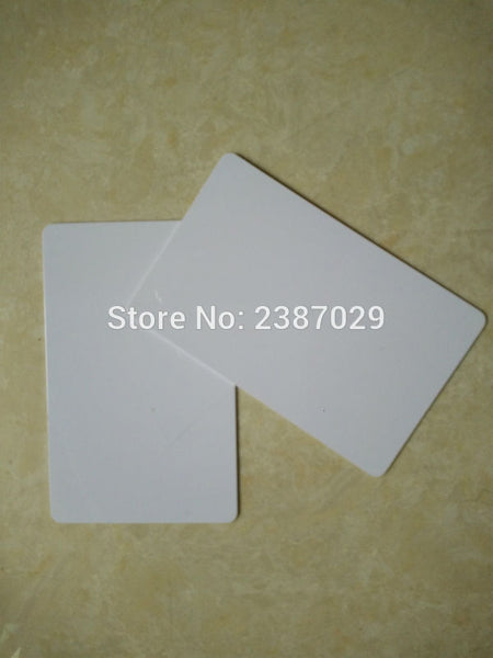 White Glossy Inkjet Blank PVC ID Card for Epson Inkjet Printer with Coating