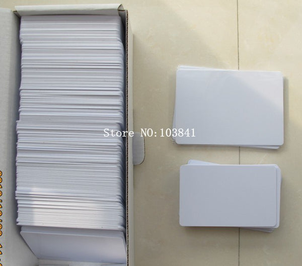 Directly Printing Inkjet Blank PVC Card For Epson Printer R265 R310 R320 R350 R390 Double Side Printable PVC ID Cards 230pcs