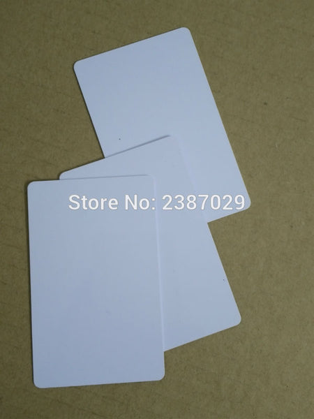 RFID 125KHZ PVC Card Inkjet Blank Business Card for Printer 200pcs/lot