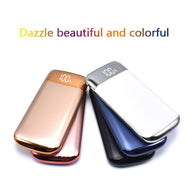 2018 Hot Sale 20000mah Power Bank External Battery 2 USB LCD Powerbank Portable Mobile Phone Charger for Xiaomi Mi 18650