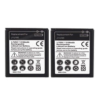 High Quality 2x 2150mah Replacement Battery Batteries for Samsung Galaxy J1/J100 Phone Rechargeable Li Ion Battery Batteria