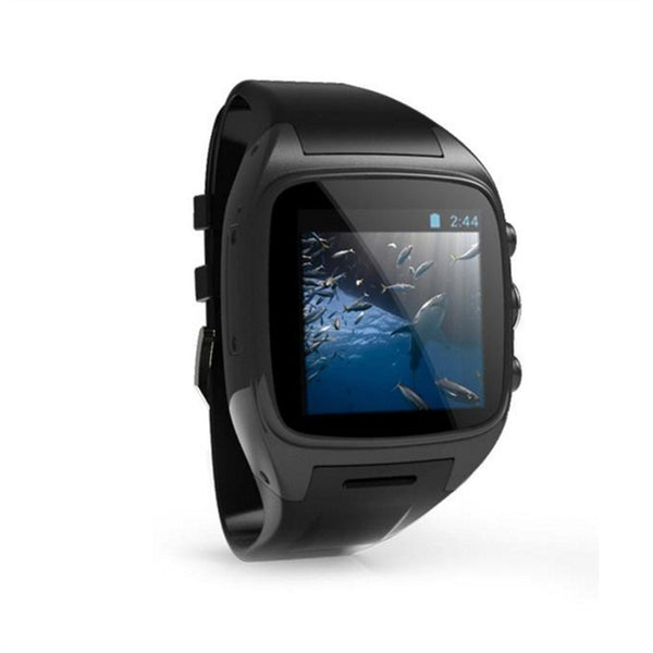 X01 Smart Watch Phone 3G IP67 Waterproof Multi-function Monitor with Wifi GPS (Black)
