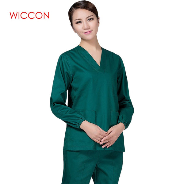 Medical Clothing Scrub Sets Female Male Scrubs Medical Uniform Scrub Medical Clothing