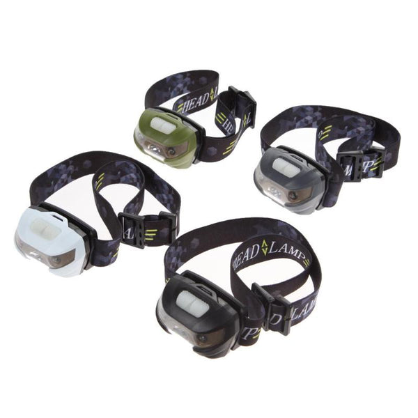 CREE Q5 3000LM Body Motion Sensor Headlamp Mini LED Headlight Rechargeable Outdoor Camping Flashlight Head Torch Lamp With USB