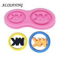 Brand Logo Molds Silicone Cake Mold DIY Chocolate Candy Moulds Fondant Cake Decorating Tools D0238
