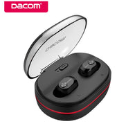Dacom K6H TWS Mini Handsfree Bluetooth Earphone True Wireless HiFi Stereo Earbuds Headset with Mic Charging Box for iOS android