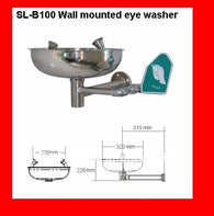 New Arrival Stainless Steel Wall mounted Emergency Eye Wash shower Stations