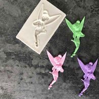 New arrival Childhood Flower Fairy Silicone Mold Gumpaste Chocolate Clay Candy Molds Fondant Cake Decorating Tools DIY