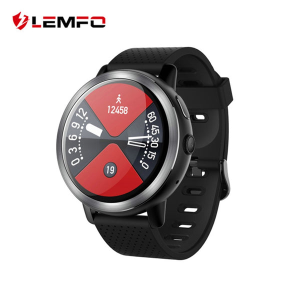 LEMFO LEM8 Smart Watch Men Watch LTE 4G Android 7.1.1 2GB 16GB MTK6739 1.0GHz 1.39 Inch AMOLED Screen 580mAh Battery Sport watch