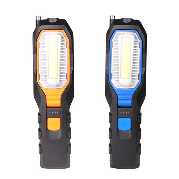 COB LED Work Light Torch  4 Modes Emergency Flashlinght Lamp with Magnet