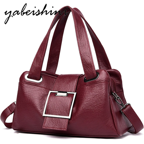 Fashion large capacity ladies hand bags luxury handbags women bags designer Sac a main High quality leather women's shoulder bag