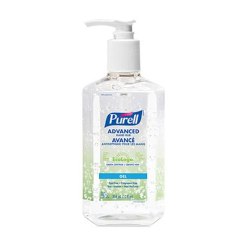 PURELL ADVANCED HAND RUB 4oz, 8oz, 12oz w/ PUMP