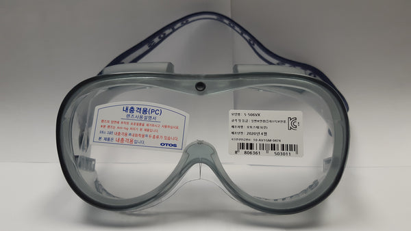 Wrap Around Safety Goggle COVID-19 Eye protection