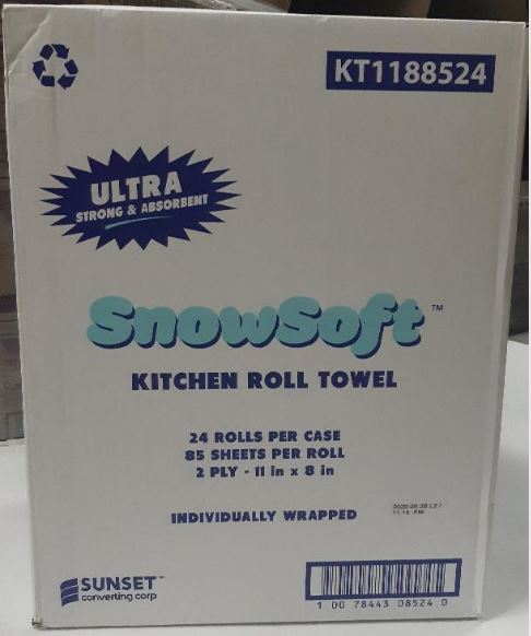House hold hand towel 24Rolls 2ply 85'sheets CURBSIDE PICK UP AVAILABLE